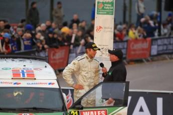 © North One Sport Limited 2010/ Octane Photographic Ltd. 2010 WRC Great Britain Podium, Sunday 14th November 2010. Digital ref : 0114LW1D0965