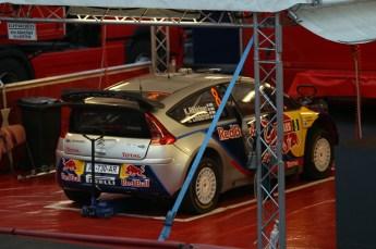 © North One Sport Limited 2010/ Octane Photographic Ltd. 2010 WRC Great Britain SS1, Thursday 11th November 2010. Digital Ref : 0115CB1D9612