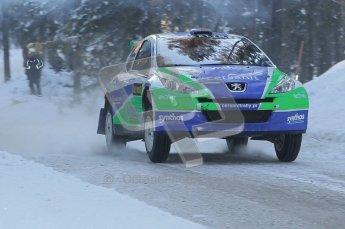 © North One Sport Ltd.2010 / Octane Photographic Ltd.2010. WRC Sweden SS9 Run ii. February 13th 2010. Digital Ref : 0209cb1d1997