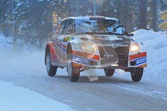 © North One Sport Ltd.2010 / Octane Photographic Ltd.2010. WRC Sweden SS9 Run ii. February 13th 2010. Digital Ref : 0209cb1d2003
