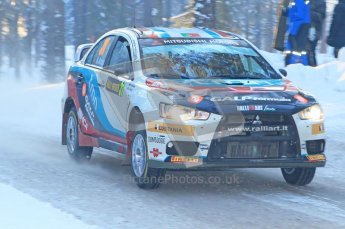 © North One Sport Ltd.2010 / Octane Photographic Ltd.2010. WRC Sweden SS9 Run ii. February 13th 2010. Digital Ref : 0209cb1d2015