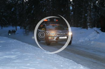 © North One Sport Ltd.2010 / Octane Photographic Ltd.2010. WRC Sweden SS9. February 13th 2010. Digital Ref : 0133CB1D1910