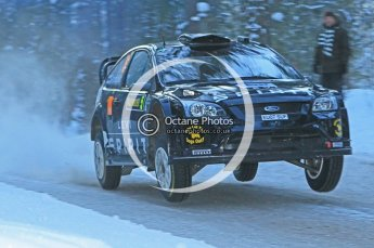 © North One Sport Ltd.2010 / Octane Photographic Ltd.2010. WRC Sweden SS9. February 13th 2010. Digital Ref : 0133CB1D1945