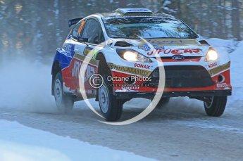 © North One Sport Ltd.2010 / Octane Photographic Ltd.2010. WRC Sweden SS9. February 13th 2010. Digital Ref : 0133CB1D1975