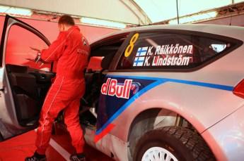 © North One Sport Limited 2010/ Octane Photographic Ltd. 2010 WRC Great Britain Shakedown, Wednesday 10th November 2010. Kimi Raikkonen/ Kaj Lindstrom, Citroen C4 WRC. Digital Ref : 0035CB1D9228