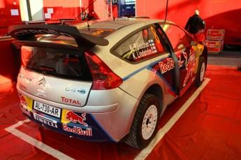 © North One Sport Limited 2010/ Octane Photographic Ltd. 2010 WRC Great Britain Shakedown, Wednesday 10th November 2010. Kimi Raikkonen/ Kaj Lindstrom, Citroen C4 WRC. Digital Ref : 0035CB1D9236