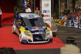 © North One Sport Ltd. 2010 / Octane Photographic Ltd. 2010 WRC Germany Podium, 23st August 2010. Digital Ref: 0212lw7d8479