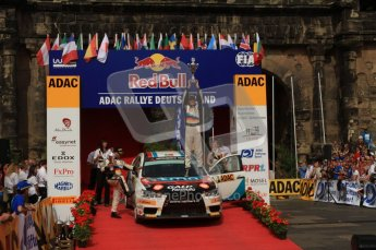 © North One Sport Ltd. 2010 / Octane Photographic Ltd. 2010 WRC Germany Podium, 23st August 2010. Digital Ref: 0212lw7d8499