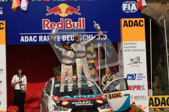 © North One Sport Ltd. 2010 / Octane Photographic Ltd. 2010 WRC Germany Podium, 23st August 2010. Digital Ref: 0212lw7d8503