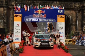 © North One Sport Ltd. 2010 / Octane Photographic Ltd. 2010 WRC Germany Podium, 23st August 2010. Digital Ref: 0212lw7d8510
