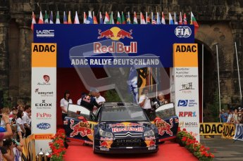 © North One Sport Ltd. 2010 / Octane Photographic Ltd. 2010 WRC Germany Podium, 23st August 2010. Digital Ref: 0212lw7d8783