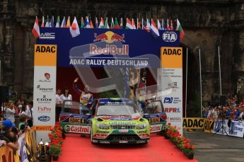 © North One Sport Ltd. 2010 / Octane Photographic Ltd. 2010 WRC Germany Podium, 23st August 2010. Digital Ref: 0212lw7d8894