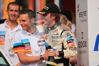 © North One Sport Ltd. 2010 / Octane Photographic Ltd. 2010 WRC Germany Podium, 23st August 2010. Digital Ref: 0212lw7d9122