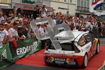 © North One Sport Ltd. 2010 / Octane Photographic Ltd. 2010 WRC Germany Podium, 23st August 2010. Digital Ref: 0212lw7d9462