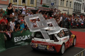 © North One Sport Ltd. 2010 / Octane Photographic Ltd. 2010 WRC Germany Podium, 23st August 2010. Digital Ref: 0212lw7d9469