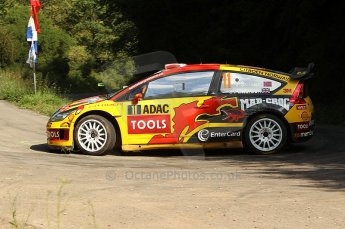 © North One Sport Ltd.2010 / Octane Photographic Ltd. 2010 WRC Germany SS13 Freisen Westrich II , 21st August 2010. Digital Ref : 0161cb1d7330