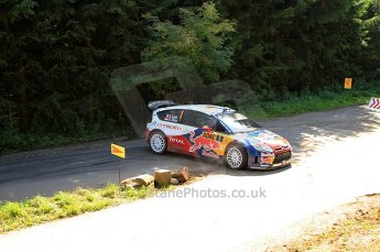 © North One Sport Ltd.2010 / Octane Photographic Ltd. 2010 WRC Germany SS13 Freisen Westrich II, 21st August 2010, Sebastien Loeb/Daniel Elena, Citroen C4 WRC. Digital Ref : 0161lw7d6484