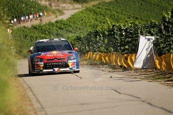 © North One Sport Limited 2010/Octane Photographic Ltd. 2010 WRC Germany SS6 Moseland I, Sebastien Loeb/Daniel Elena - Citroen C4 WRCI.  20th August 2010. Digital Ref : 0159cb1d5332