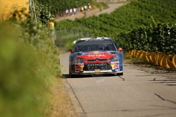 © North One Sport Limited 2010/Octane Photographic Ltd. 2010 WRC Germany SS6 Moseland II.  20th August 2010. Digital Ref : 0159cb1d5357