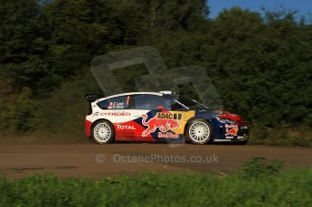 © North One Sport Limited 2010/Octane Photographic Ltd. 2010 WRC Germany SS9 Freisen Westrich I, Sebastien Loeb/Daniel Elena, Citroen C4 WRC.. 21st August 2010. Digital Ref : 0160LW7D5364