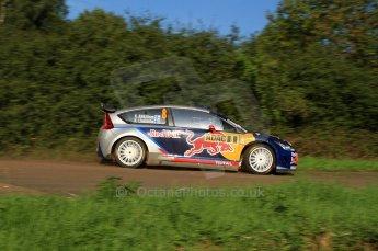 © North One Sport Limited 2010/Octane Photographic Ltd.  2010 WRC Germany SS9 Freisen Westrich I, Kimi Raikkonen/Kaj Lindstrom, Citroen C4 WRC. 21st August 2010. Digital Ref : 0160LW7D5445