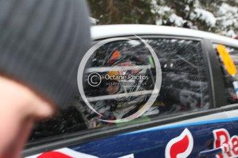 © North One Sport Ltd.2010 / Octane Photographic Ltd.2010. WRC Sweden shakedown stage. February 11th 2010, Kimi Raikkonen/Kaj Lindstrom, Citroen C4 WRC. Digital Ref : 0129CB1D1237