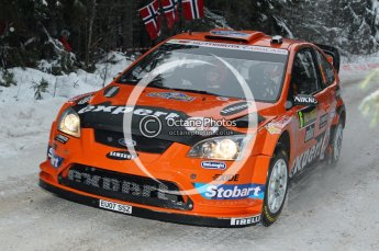 © North One Sport Ltd.2010 / Octane Photographic Ltd.2010. WRC Sweden shakedown stage. February 11th 2010. Digital Ref : 0129CB1D1226