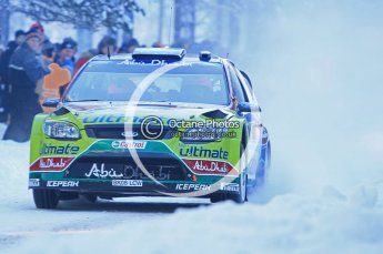 © North One Sport Ltd.2010 / Octane Photographic Ltd.2010. WRC Sweden SS3. February 12th 2010. Digital Ref : 0130CB1D1660