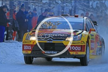 © North One Sport Ltd.2010 / Octane Photographic Ltd.2010. WRC Sweden SS3. February 12th 2010. Digital Ref : 0130CB1D1686