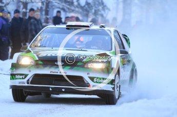 © North One Sport Ltd.2010 / Octane Photographic Ltd.2010. WRC Sweden SS3. February 12th 2010. Digital Ref : 0130CB1D1703