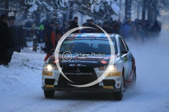 © North One Sport Ltd.2010 / Octane Photographic Ltd.2010. WRC Sweden SS3. February 12th 2010. Digital Ref : 0130CB1D1784