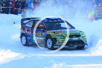 © North One Sport Ltd.2010 / Octane Photographic Ltd.2010. WRC Sweden SS12. February 13th 2010. Digital Ref : 0134CB1D2092