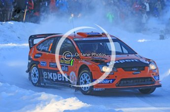 © North One Sport Ltd.2010 / Octane Photographic Ltd.2010. WRC Sweden SS12. February 13th 2010. Digital Ref : 0134CB1D2122