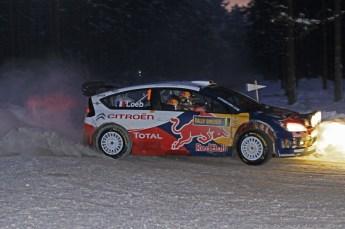 © North One Sport Ltd.2010 / Octane Photographic Ltd.2010. WRC Sweden SS15. February 13th 2010, Sebastien Loeb/Daniel Elena, Citroen C4 WRC. Digital Ref : 0135CB1D2183