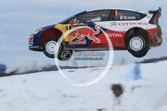 © North One Sport Ltd.2010 / Octane Photographic Ltd.2010. WRC Sweden SS18 February 14th 2010, Sebastien Loeb/Daniel Elena, Citroen C4 WRC. Digital Ref : 0136CB1D2295