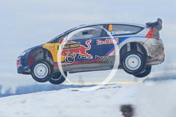 © North One Sport Ltd.2010 / Octane Photographic Ltd.2010. WRC Sweden SS18 February 14th 2010, Kimi Raikkonen/Kaj Lindstrom, Citroen C4 WRC. Digital Ref : 0136CB1D2348