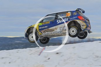 © North One Sport Ltd.2010 / Octane Photographic Ltd.2010. WRC Sweden SS18 February 14th 2010. Digital Ref : 0136CB1D2391