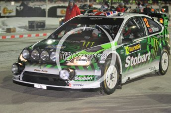 © North One Sport Ltd.2010 / Octane Photographic Ltd.2010. WRC Sweden SS1 Karlstad Stadium. February 11th 2010. Digital Ref : 0131CB1D1391