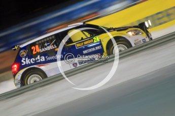 © North One Sport Ltd.2010 / Octane Photographic Ltd.2010. WRC Sweden SS1 Karlstad Stadium. February 11th 2010. Digital Ref : 0131CB1D1460