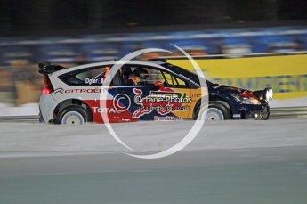 © North One Sport Ltd.2010 / Octane Photographic Ltd.2010. WRC Sweden SS1 Karlstad Stadium. February 11th 2010. Digital Ref : 0131CB1D1509