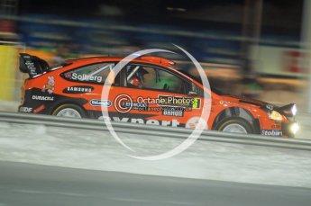 © North One Sport Ltd.2010 / Octane Photographic Ltd.2010. WRC Sweden SS1 Karlstad Stadium. February 11th 2010. Digital Ref : 0131CB1D1539
