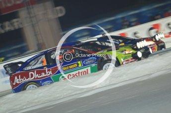 © North One Sport Ltd.2010 / Octane Photographic Ltd.2010. WRC Sweden SS1 Karlstad Stadium. February 11th 2010. Digital Ref : 0131CB1D1556