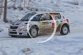 © North One Sport Ltd.2010 / Octane Photographic Ltd.2010. WRC Sweden SS21 February 14th 2010. Digital Ref : 0137CB1D2766