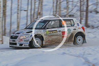© North One Sport Ltd.2010 / Octane Photographic Ltd.2010. WRC Sweden SS21 February 14th 2010. Digital Ref : 0137CB1D2768