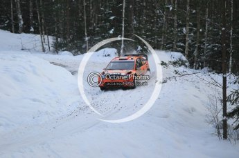 © North One Sport Ltd.2010 / Octane Photographic Ltd.2010. WRC Sweden SS21 February 14th 2010. Digital Ref : 0137CB1D2871