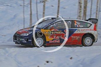 © North One Sport Ltd.2010 / Octane Photographic Ltd.2010. WRC Sweden SS21 February 14th 2010. Digital Ref : 0137CB1D2895