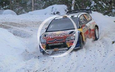 © North One Sport Ltd.2010 / Octane Photographic Ltd.2010. WRC Sweden SS21 February 14th 2010. Digital Ref : 0137CB1D2903