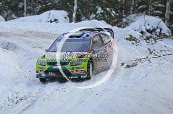 © North One Sport Ltd.2010 / Octane Photographic Ltd.2010. WRC Sweden SS21 February 14th 2010. Digital Ref : 0137CB1D2958
