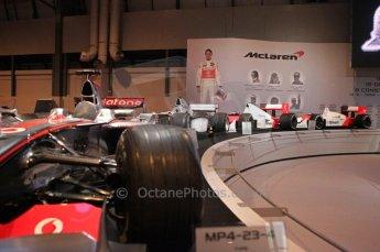 © Octane Photographic Ltd. Autosport International 2011, January 13th 2011. McLaren Display MP4/23. Digital ref : 0045CB1D5203