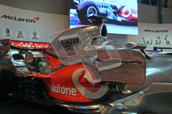 © Octane Photographic Ltd. Autosport International 2011, January 13th 2011. McLaren Display. MP4/23. Digital ref : 0045CB1D5203